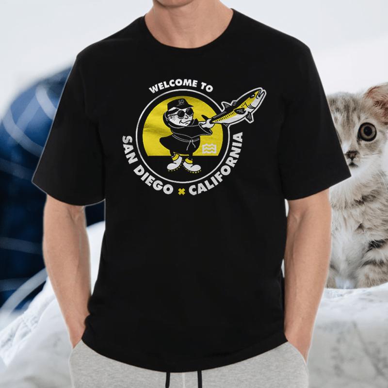 Welcome To San Diego California Shirt