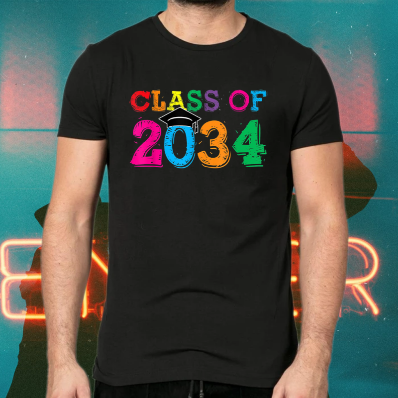 Class Of 2034 Grow With Me Shirts