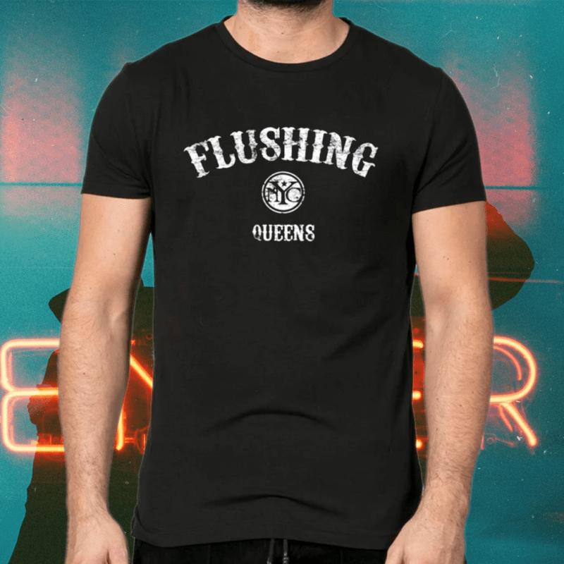 Flushing Queens Retro New York City Shirts