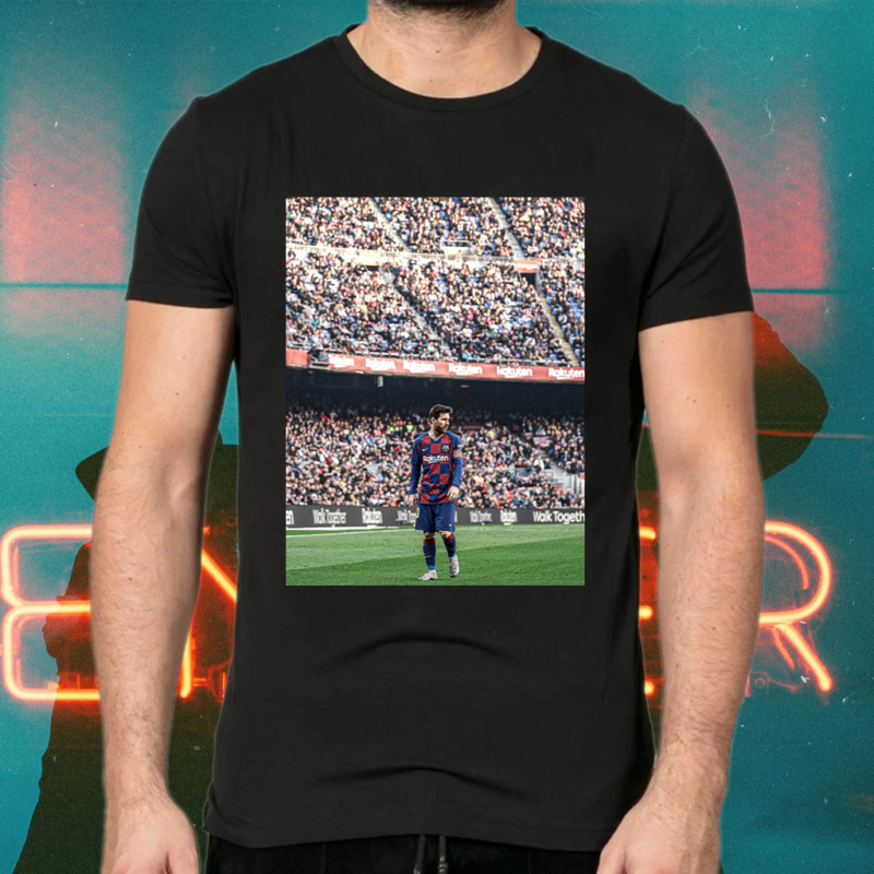 Lionel Messi holds the following La Liga records tshirts