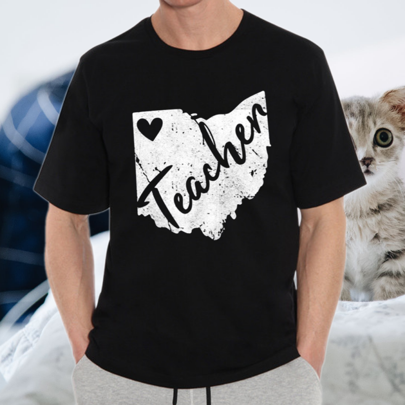 Red For Ed Ohio Teacher S Redfored Tee Shirts