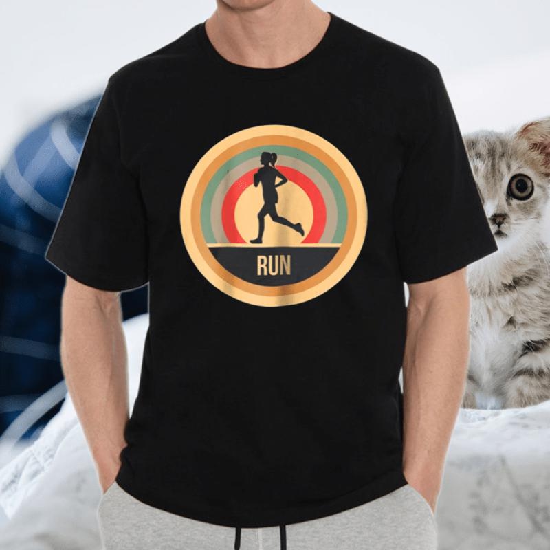 Retro Vintage Running For Runners Shirt