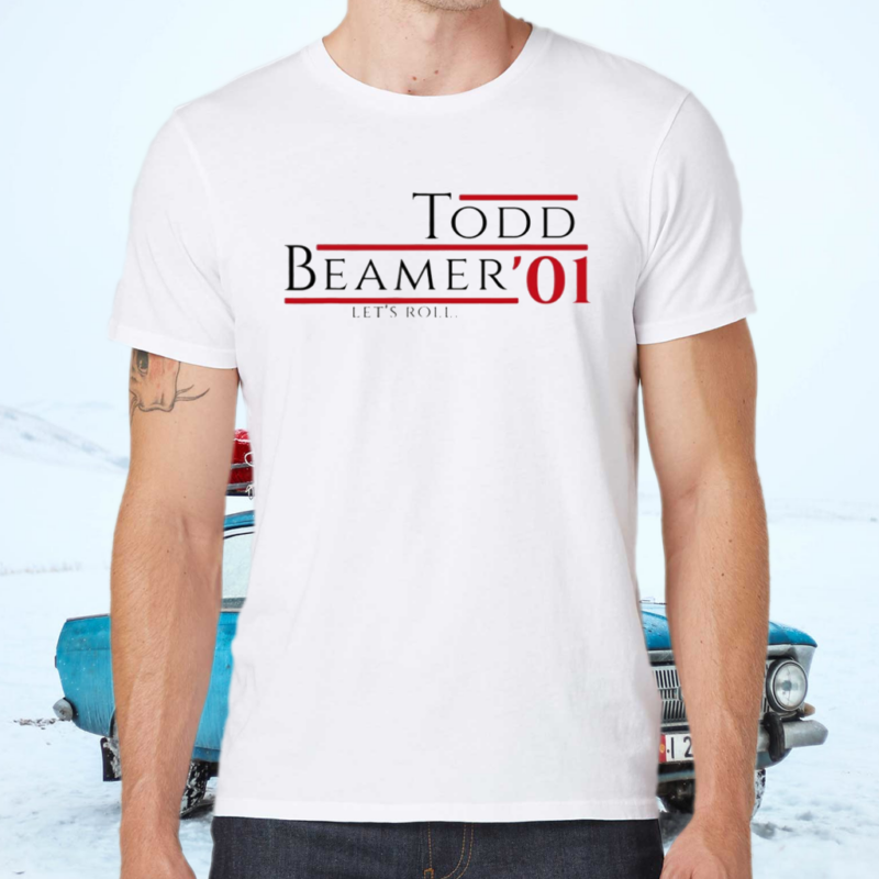 Todd Beamer '01 Let's Roll Anniversary Patriot Day T Shirt
