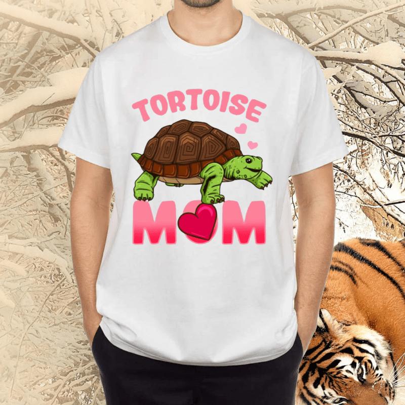 Tortoise Mom Mama Reptile Species Shirts