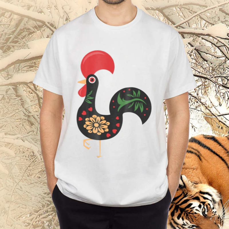 Traditional Portuguese Decorative Rooster Portugal Rooster Shirts