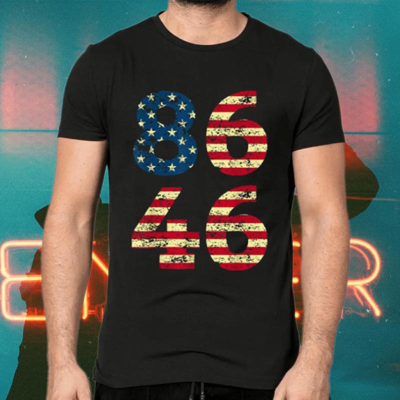 86 46 Anti Vintage Distressed Shirts
