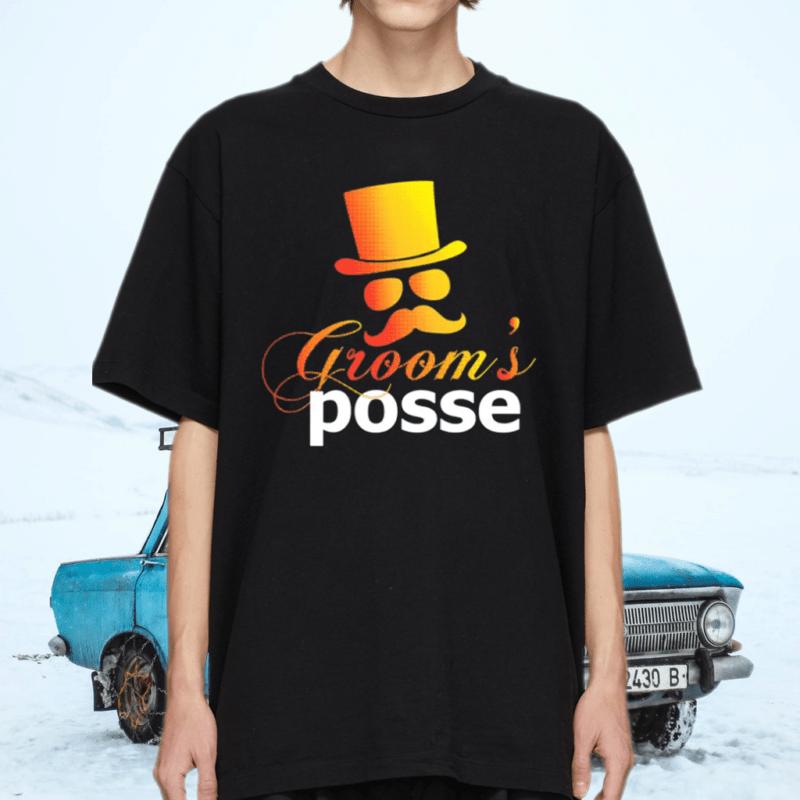 Groom's Posse Groomsmen Tee Shirt