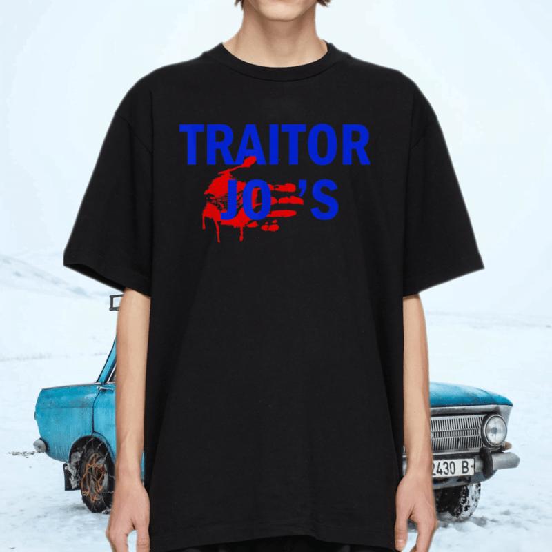Traitor Joe's MAGA Anti-Biden Political Tee-Shirt